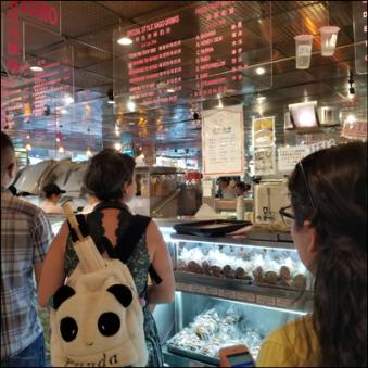 Pasteleria en Chinatown